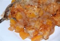 Kim's Peach Cobbler